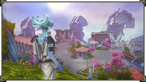 Скриншот бесплатной ролевой игры онлайн (RPG) «Аллоды Онлайн»