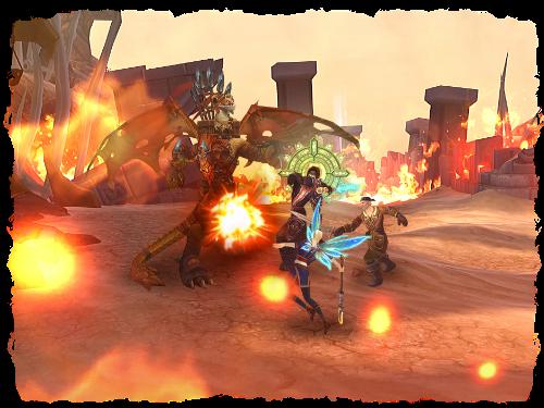 """Capture d'écran du jeu de rôle en ligne gratuit (RPG) «Rage en ligne"""""""
